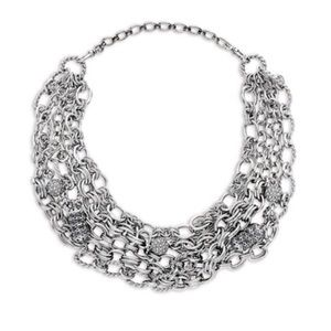 C+I Heirloom Chain + Pavé Convertible Necklace